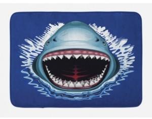 Ambesonne Shark Bath Mat Bedding