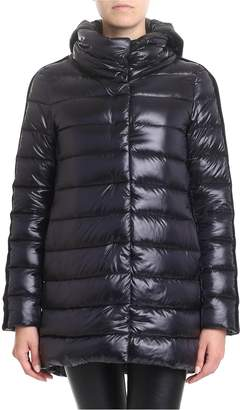 Herno Resort Down Jacket With Stripes On The Sleeves