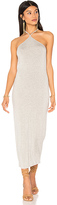 Clayton Maliya Midi Dress in Gray. - size S (also in XS)