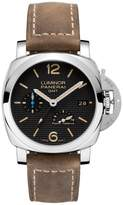 Panerai Luminor PAM01537 Stainless Steel & Leather Automatic 42mm Mens Watch
