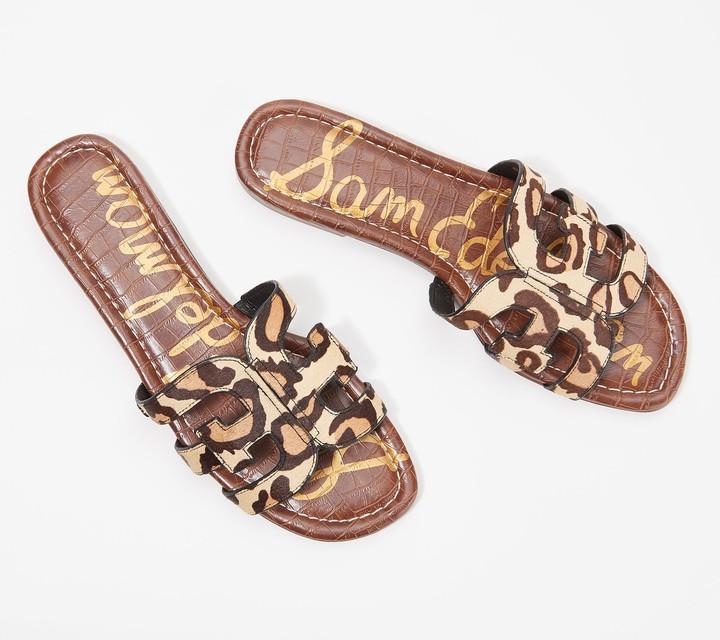 Sam Edelman Leopard Sandals | Shop the