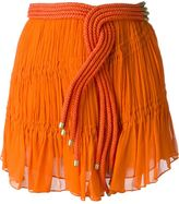 Jay Ahr rope detail mini skirt