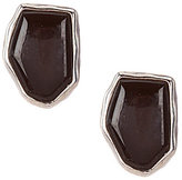 Barse Sterling Silver & Onyx Stud Earrings