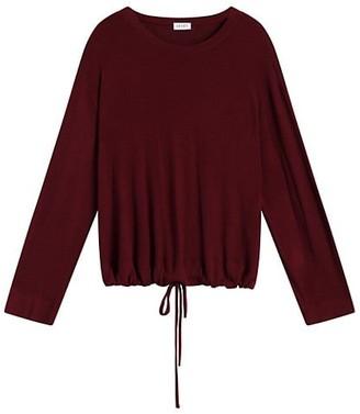 Leset Lori Drawstring Crewneck Sweater