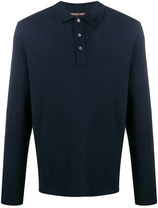 Michael Kors long-sleeved polo shirt