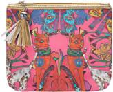Jessica Russell Flint - Cairo Cats Make-Up Bag