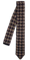 Missoni Hound's-tooth knit tie