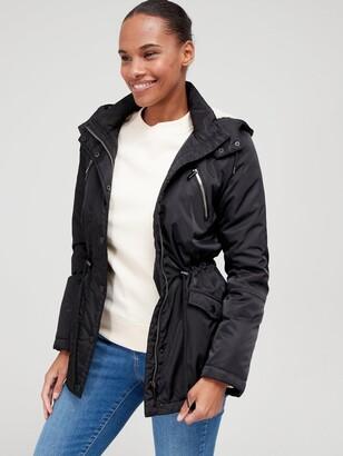 Very Fleece Lined Windcheater Jacket - Black