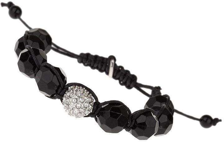 Topman Metal Bead Bracelet