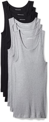 Amazon Essentials 6-Pack Tank Undershirts Shirt