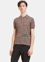 Missoni Men's Striped Polo Shirt In Multicolour