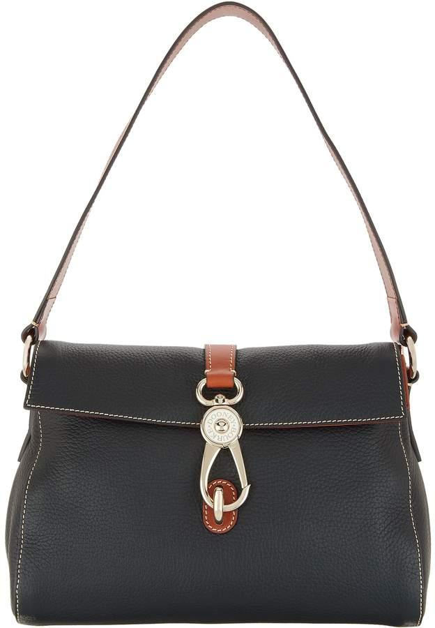 Dooney & Bourke Pebble Leather Libby Shoulder Bag