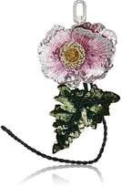 Altuzarra Women's Sequined Flower Bag Charm
