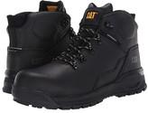 Caterpillar Kinetic Ice+ Waterproof TX Composite Toe (Black Full Grain Leather) Men's Work Boots