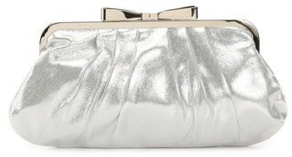 Lulu Townsend Bow Lock Frame Clutch