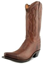 Lucchese M004 Ranch Hand Women Pointed Toe Suede Tan Western Boot.