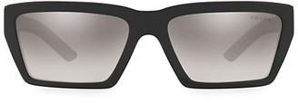 Prada 59MM Rectangular Sunglasses