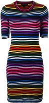 Marc Jacobs striped dress - women - Cotton - M