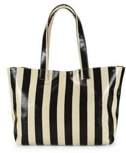 1bba126c2 Striped Canvas Tote Bag - ShopStyle