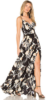 Yumi Kim Kat Maxi Dress in Black. - size XS (also in )