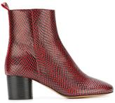 Etoile Isabel Marant Deyis boots - women - Calf Leather/Leather - 37