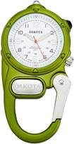 Dakota Women's Quartz Metal and Alloy Watch, Color:Lime (Model: 38820)