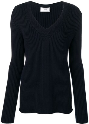 Ami V-neck jumper