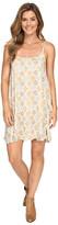 Stetson Floral Batik Spaghetti Stripe Dress
