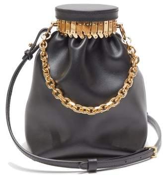 Altuzarra Ice Leather Cross-body Bag - Womens - Black