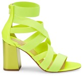 Christian Louboutin Gladiapop Strappy Block-Heel Sandals