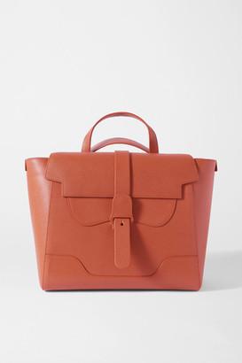 Senreve Maestra Convertible Textured-leather Shoulder Bag - Tan