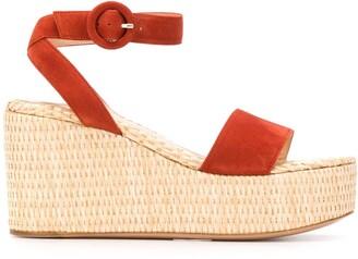 Gianvito Rossi Platform Espadrille Sandals