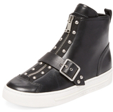 Marc by Marc Jacobs Varick Studded Leather Hi-Top