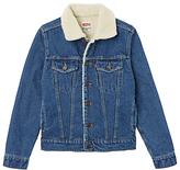 Levi's Boys' Denim Trucker Jacket, Blue