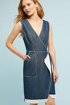 Tracy Reese Surplice Denim Dress