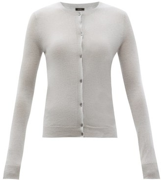 Joseph Cashair Cashmere Cardigan - Light Grey