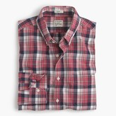 J.Crew Slim Secret Wash shirt in classic red plaid