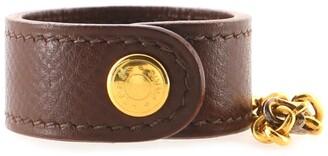 Hermes Glove Holder Bag Charm Leather and Metal