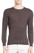 Isaia Melange Wool Sweater
