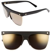 MCM Women's 60Mm Aviator Sunglasses - Black
