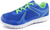 Hawkwell Breathable Lace-up Running Shoes(Little Kid/Big Kid),Blue Mesh