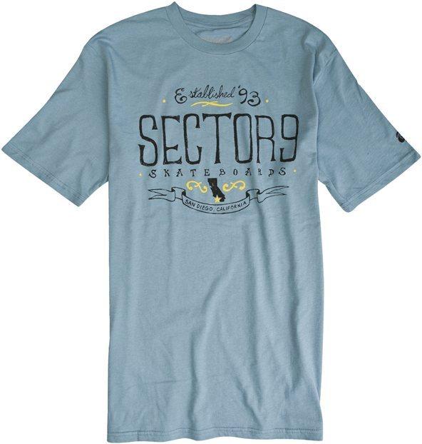 Sector-Nine Sector Nine Established Ss Tee