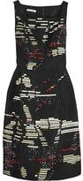 Enamel embroidered dress
