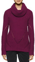 Calvin Klein Chunky Ribbed Funnelneck Sweater