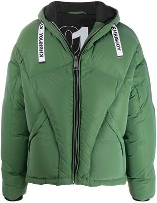 KHRISJOY Oversize Down-Feather Jacket