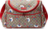 Gucci GG ducks diaper bag