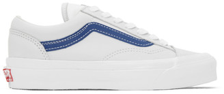 Vans Grey and Blue OG Style 36 LX Sneakers