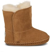 Sole Society Baby Caden sheepskin lined bootie