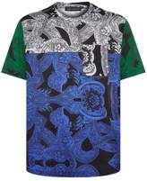 Versace Baroque Patchwork T-shirt
