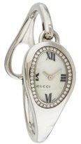 Gucci Diamond Horsebit Watch